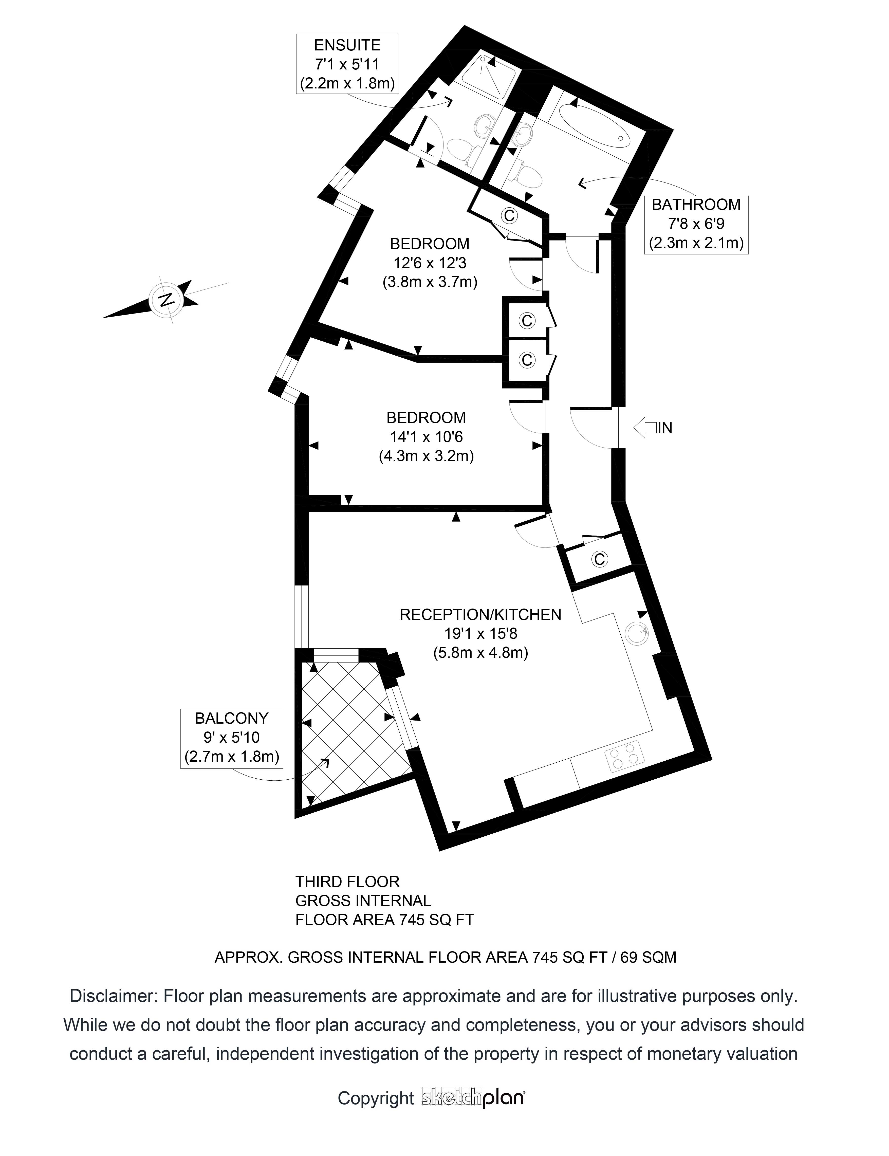 Examples Sketchplan Turning Sketches Into Beautiful Floor Plans Diagram Showing An Example Of A Plan Which Can Be Printed Or Used In Any Digital Material We Offer 24 36 Hour Turnaround Click On The Images Below To Enlarge